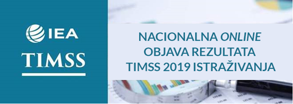 Online objava TIMSS 2019